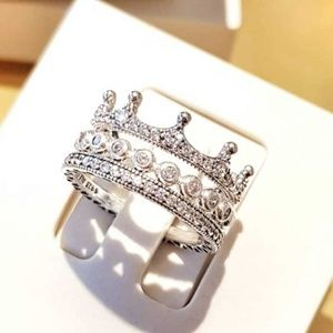 9f1ac7c89 Pandora Jewelry | Enchanted Crown Ring New 5 6 7 75 85 | Poshmark